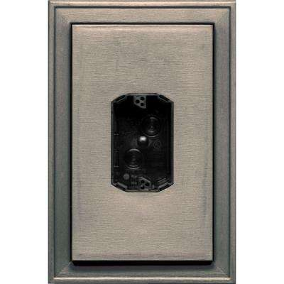 8.125 in. x 12 in. #008 Clay Jumbo Electrical Mounting Block Centered