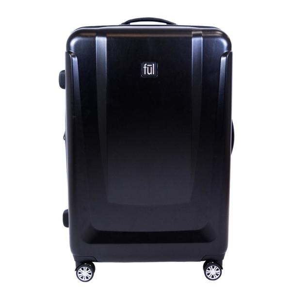Ful Load Rider 29in Hard side Spinner Rolling Luggage Suitcase,Black