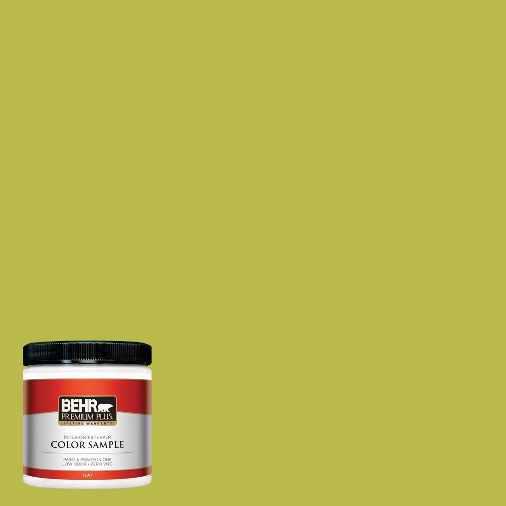 BEHR Premium Plus 8 oz. #400B-6 Japanese Fern Interior/Exterior Paint Sample