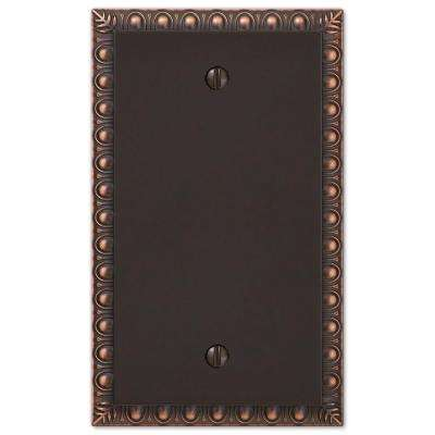 Renaissance 1 Blank Wall Plate - Oil-Rubbed Bronze