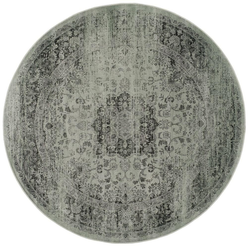 This Review Is From Vintage Spruce Ivory 6 Ft X Round Area Rug