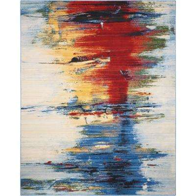 Chroma Crimson Tide 9 ft. x 12 ft. Area Rug