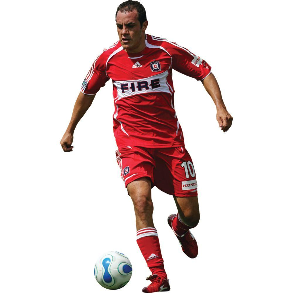 Fathead 43 in. x 73 in. Cuauhtemoc Blanco Chicago Fire Wall Decal
