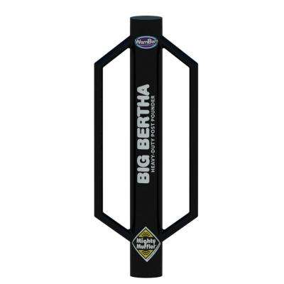 Big Bertha 27 lb. Steel Post Pounder