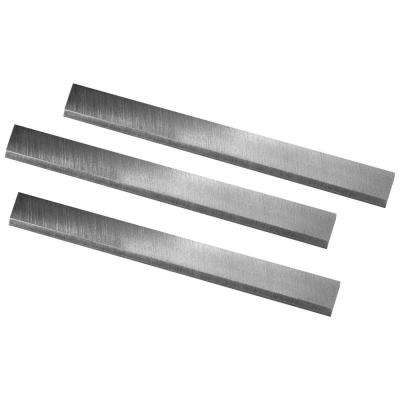 8 in. High-Speed Steel Jointer Knives for Delta 37-365 X5 DJ20 (Set of 3)