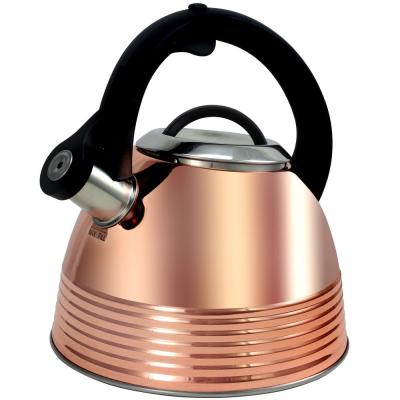 Bondfield 9-Cup Copper Finish Tea Kettle