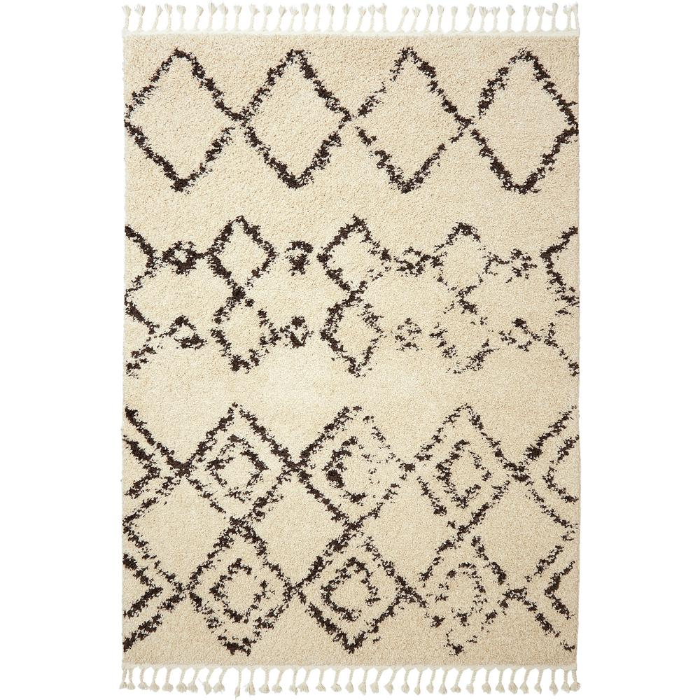 Nicole Miller Nepal Dynasty Ivory 7 Ft 10 In X 2 Indoor Area Rug 1 065 100 The Home Depot