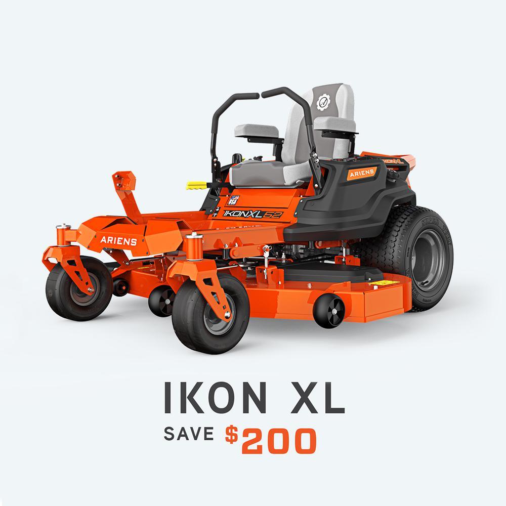 IKON XL 52 in. 24 HP KOHLER 7000 Series Twin Gas Hydrostatic Zero-Turn Riding Mower