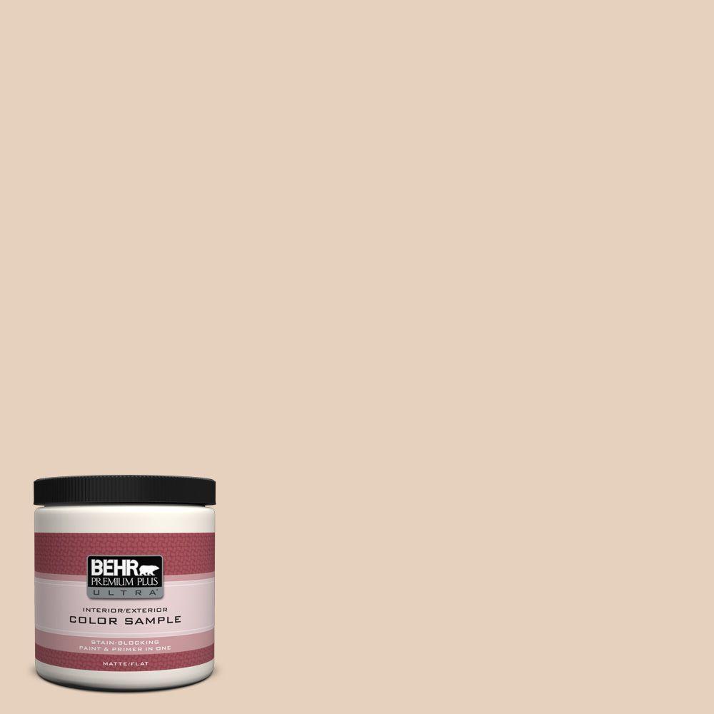 BEHR Premium Plus Ultra 8 oz. #ECC-53-1 Mown Hay Interior/Exterior Paint Sample