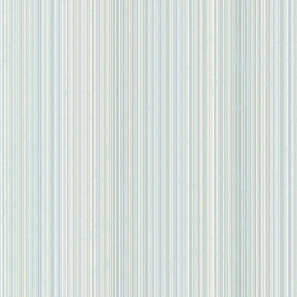Wells Denim Candy Stripe Wallpaper