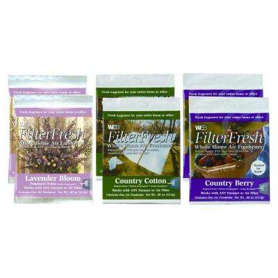 Filter Fresh Whole Home Air Freshener Summer Assortment (6-Pack)