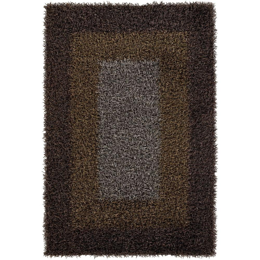 Chandra Paramera Brown 9 ft. x 13 ft. Indoor Area Rug