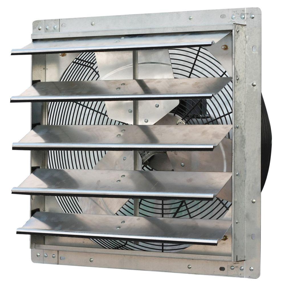 3300 CFM Power 20 in. Variable Speed Shutter Exhaust Fan