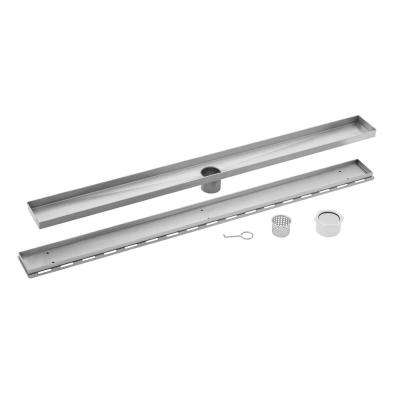 30 in. Stainless Steel Tile Insert Linear Shower Drain