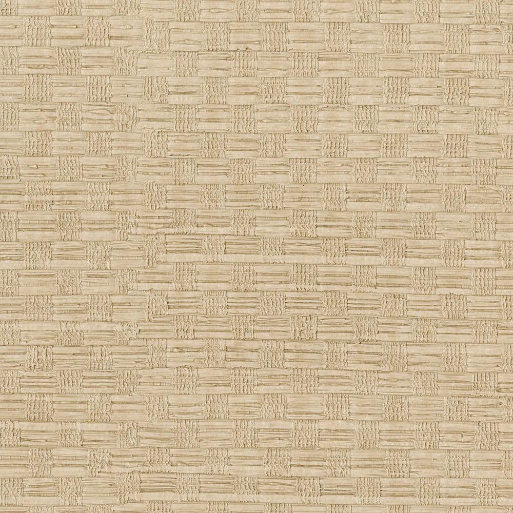 Brewster Honey Woven Texture Wallpaper 3097-49