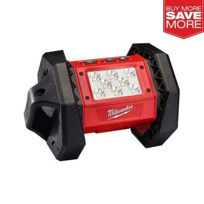 M18 18-Volt Lithium-Ion Cordless 1300 Lumens LED Flood Light (Tool-Only)