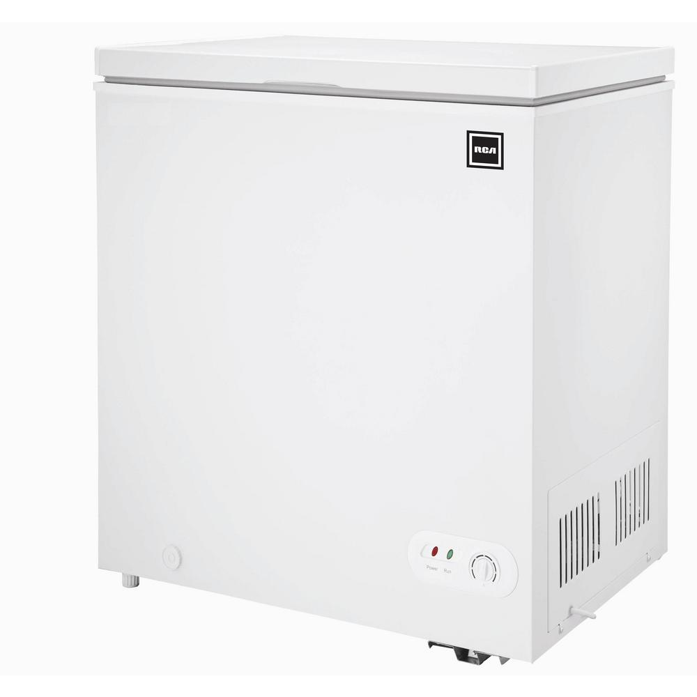 Rca 5 0 Cu Ft Chest Freezer In White Rfrf452 The Home Depot