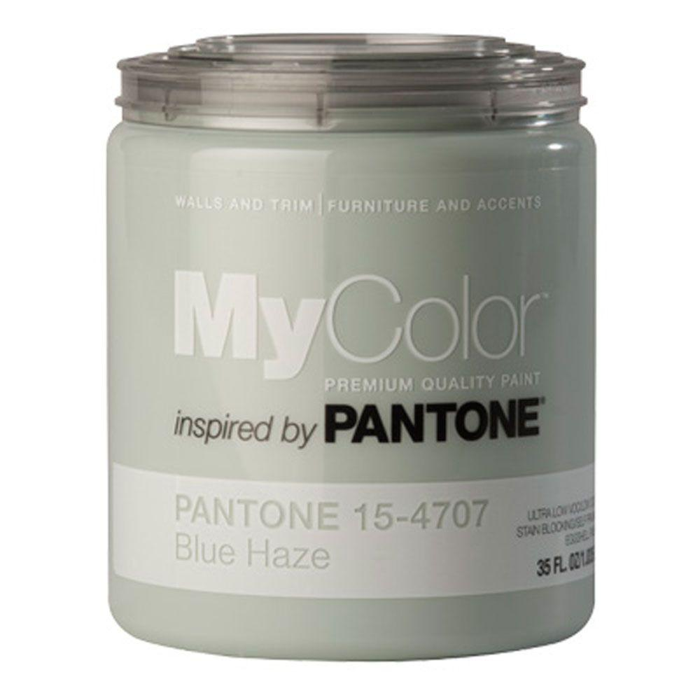 MyColor inspired by PANTONE 15-4707 Eggshell 35-oz. Blue Haze Self Priming Paint-DISCONTINUED