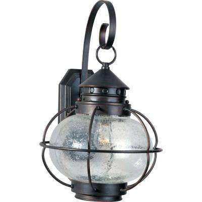 Portsmouth 1-Light Oil Rubbed Bronze Outdoor Wall Mount