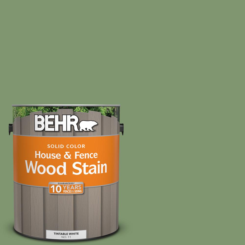 BEHR 1 gal. #SC-132 Sea Foam Solid Color House and Fence Wood Stain