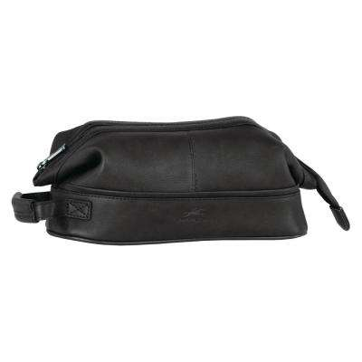 10.5 in. Black Classic Toiletry Kit with Organizer