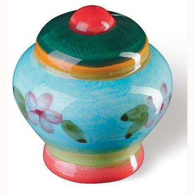 Botanico 1-3/8 in. Multicolored Cabinet Knob