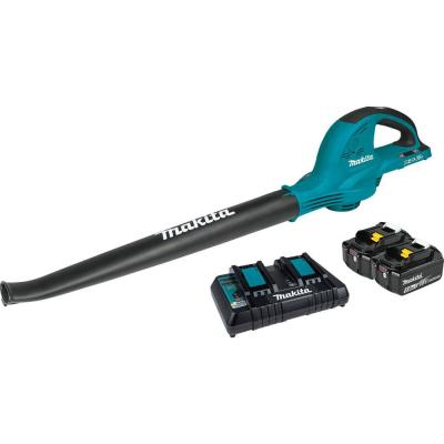 18-Volt X2 (36-Volt) 208 MPH 155 CFM LXT Lithium-Ion Cordless Blower Kit with (2) Batteries 5.0Ah and Charger