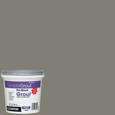 SimpleGrout #09 Natural Gray 1 Qt. Pre-Mixed Grout
