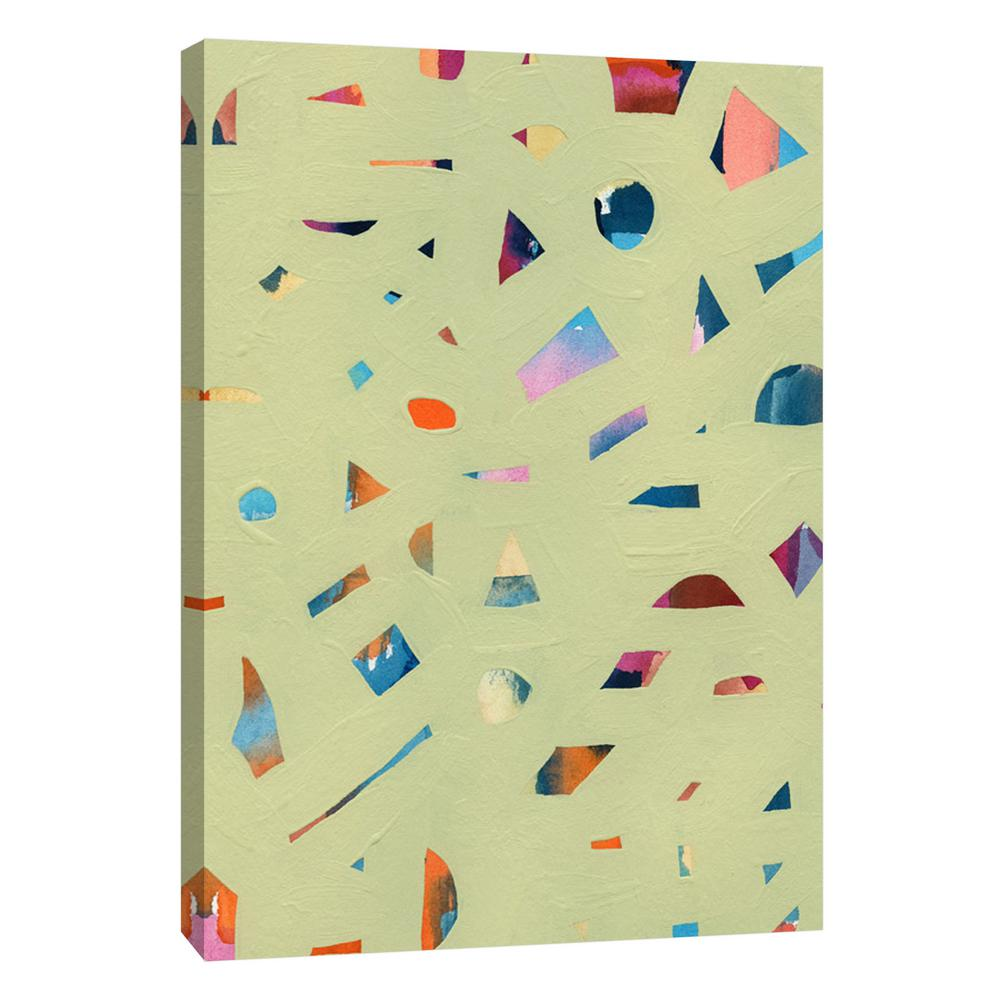 PTM Images 12.in x 10.in \'\'Confetti 2\'\' Printed Canvas Wall Art-9 ...