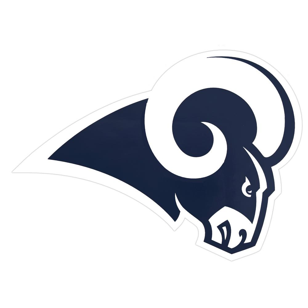 Nfl Los Angeles Rams Outdoor Logo Graphic Large Nfop1703