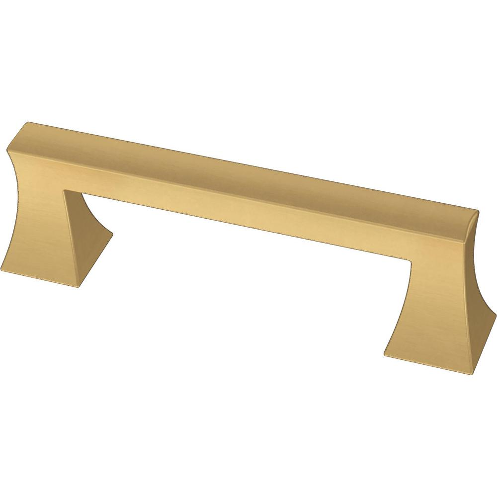 Liberty 3 in. (76 mm) Brushed Brass Modern A-Line Drawer Pull