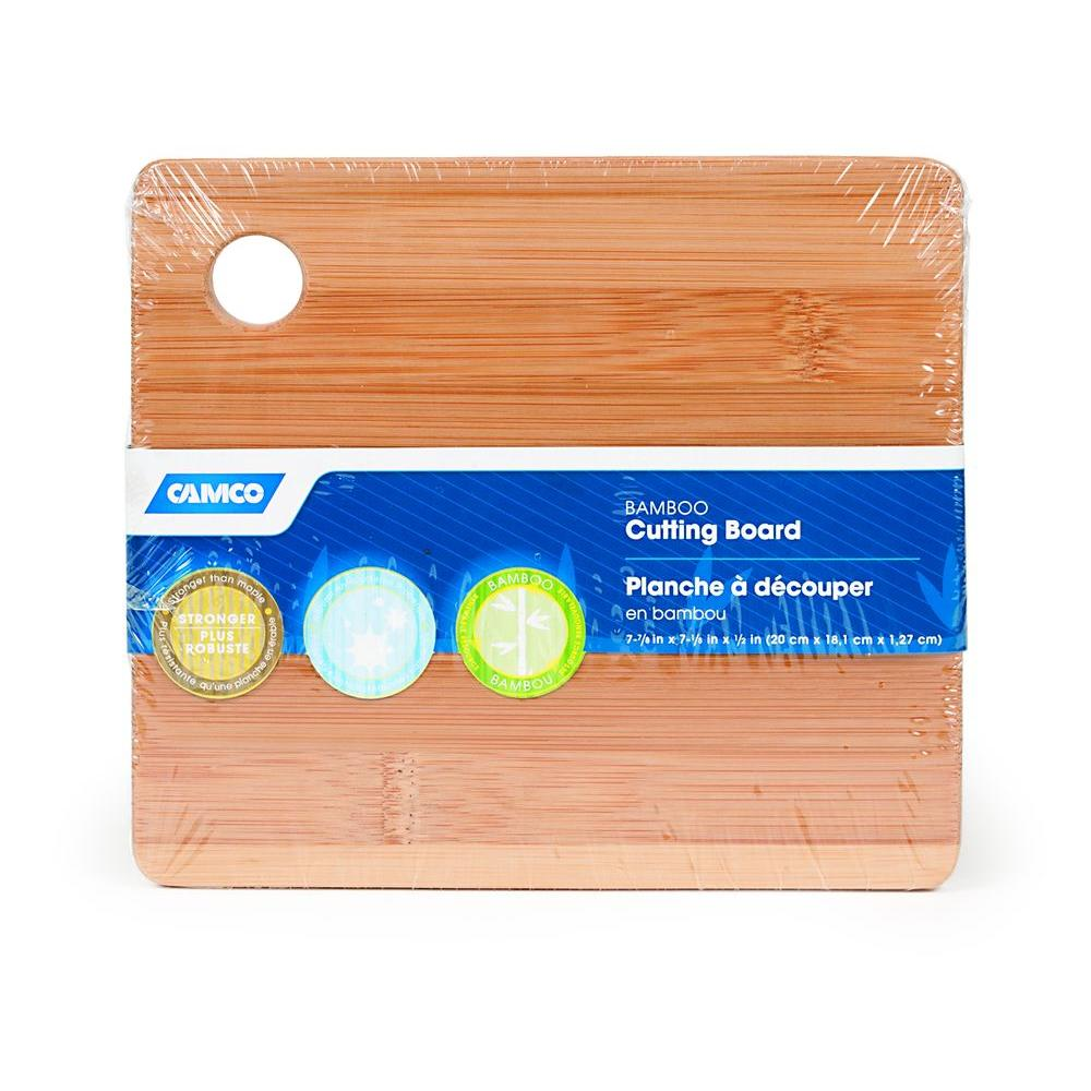 7-7/8 in. x 7-1/8 in. x 1/2 in. Bamboo Cutting Board