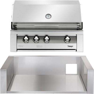 36 in. Built-In Natural Gas Grill in Stainless with Insulated Jacket