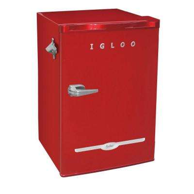 3.2 cu. ft. Mini Refrigerator in Red