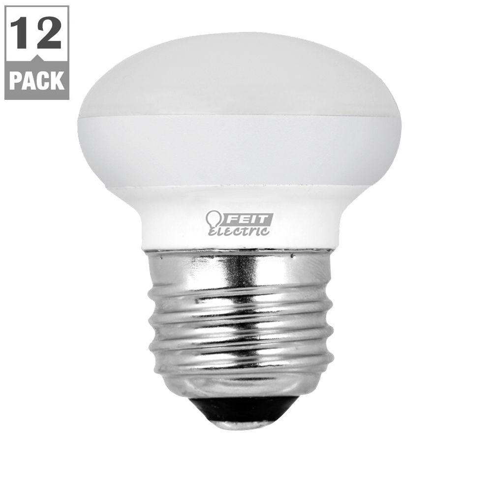 40W Equivalent Soft White R14 Dimmable LED Light Bulb (Case of