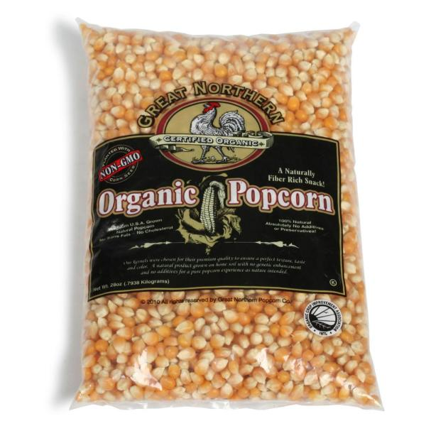 Great Northern 28 oz. All-Natural Organic Yellow Gourmet Popcorn HWD630197