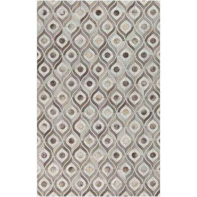 Bedford Ivory 5 ft. x 8 ft. Indoor Area Rug