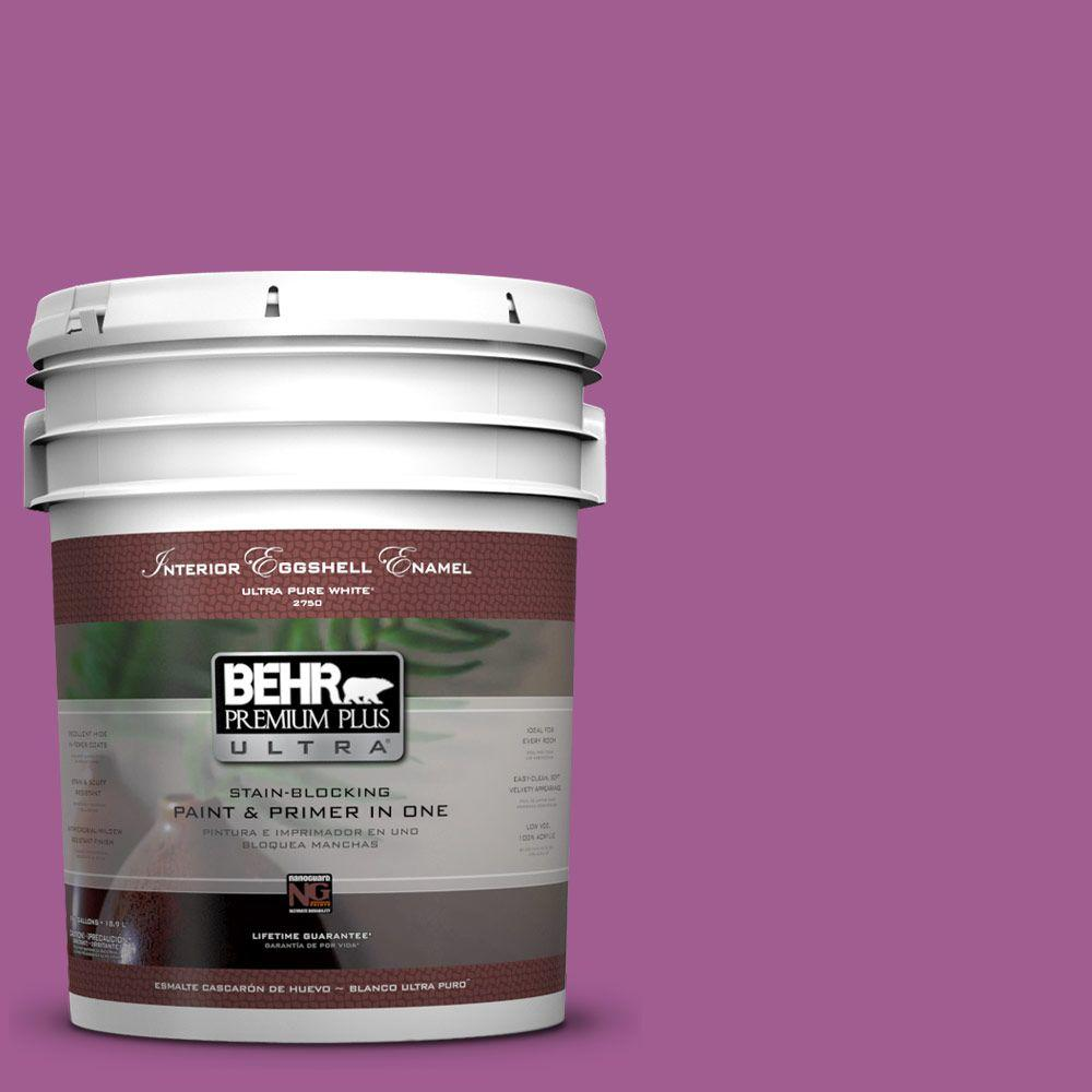 5-gal. #P110-6 Wild Berry Eggshell Enamel Interior Paint