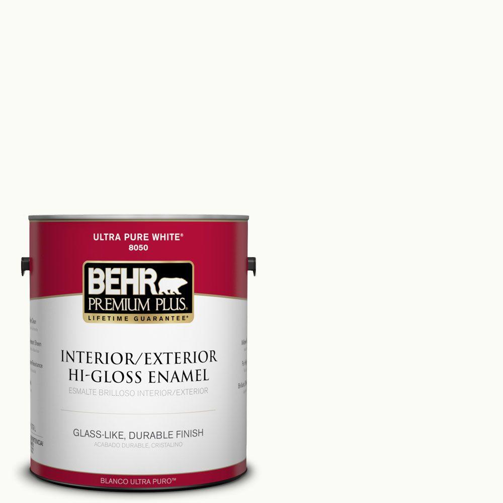 Pr W15 Ultra Pure White Hi Gloss Enamel Interior Exterior Paint