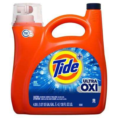 Ultra 138 oz. Oxi He Liquid Laundry Detergent (89-Loads)