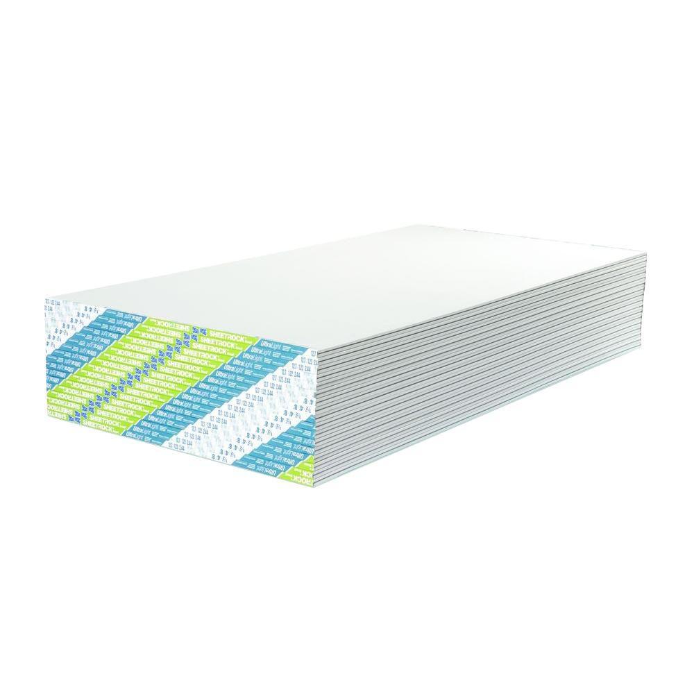 1/2 in. x 4 ft. x 8 ft. Ultralight Gypsum Board