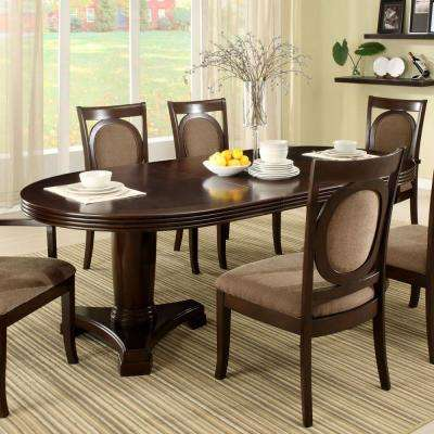 Evelyn 7 Piece Walnut Dining Set