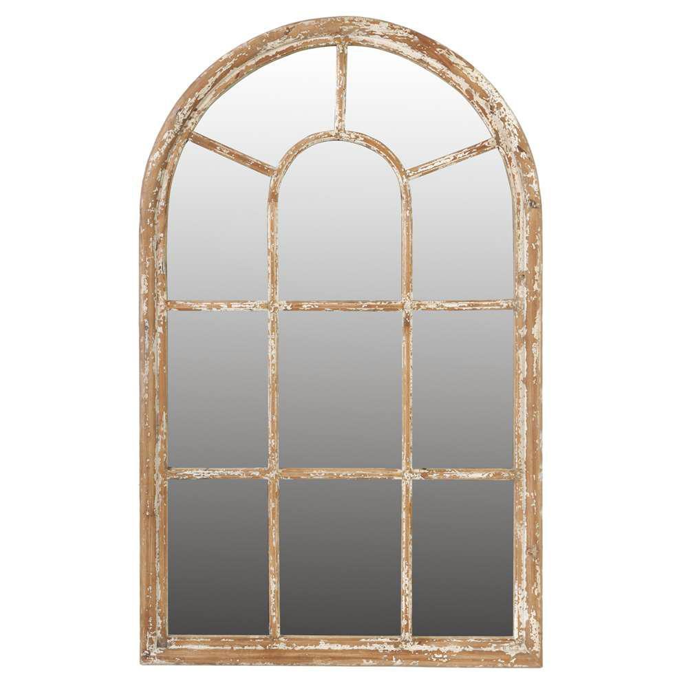 54.5 in. x 34 in. Framed Mirror