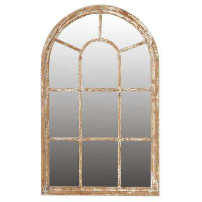 54.5 in. x 34 in. Framed Mirror