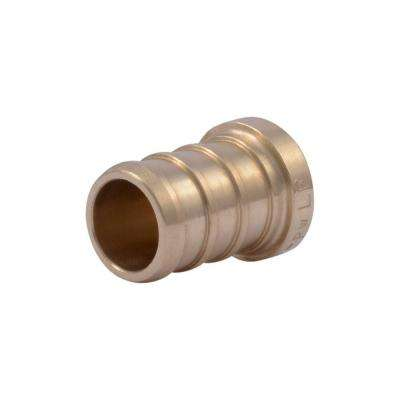 1/2 in. PEX Barb Brass Plug Fitting (5-Pack)