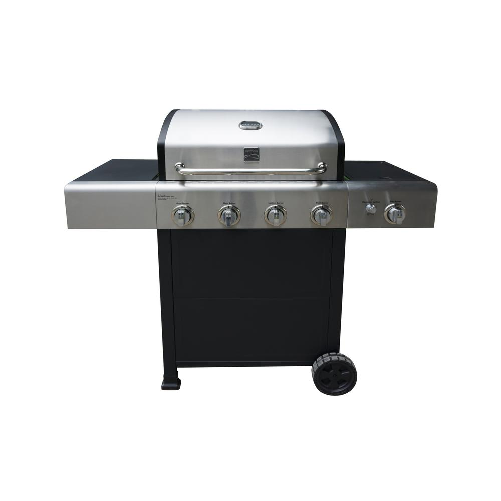 4 Burner Grill Plus Side