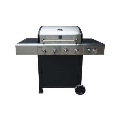 4 Burner Grill plus Side Burner