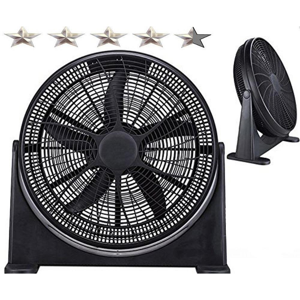 20 in. High-Velocity Home Cooling Power Fan Superior Air Flow Tilt