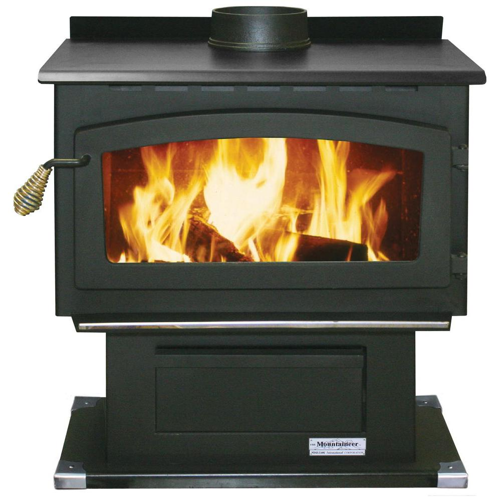 Vogelzang Mountaineer 2000 sq. ft. Wood-Burning Stove with Blower