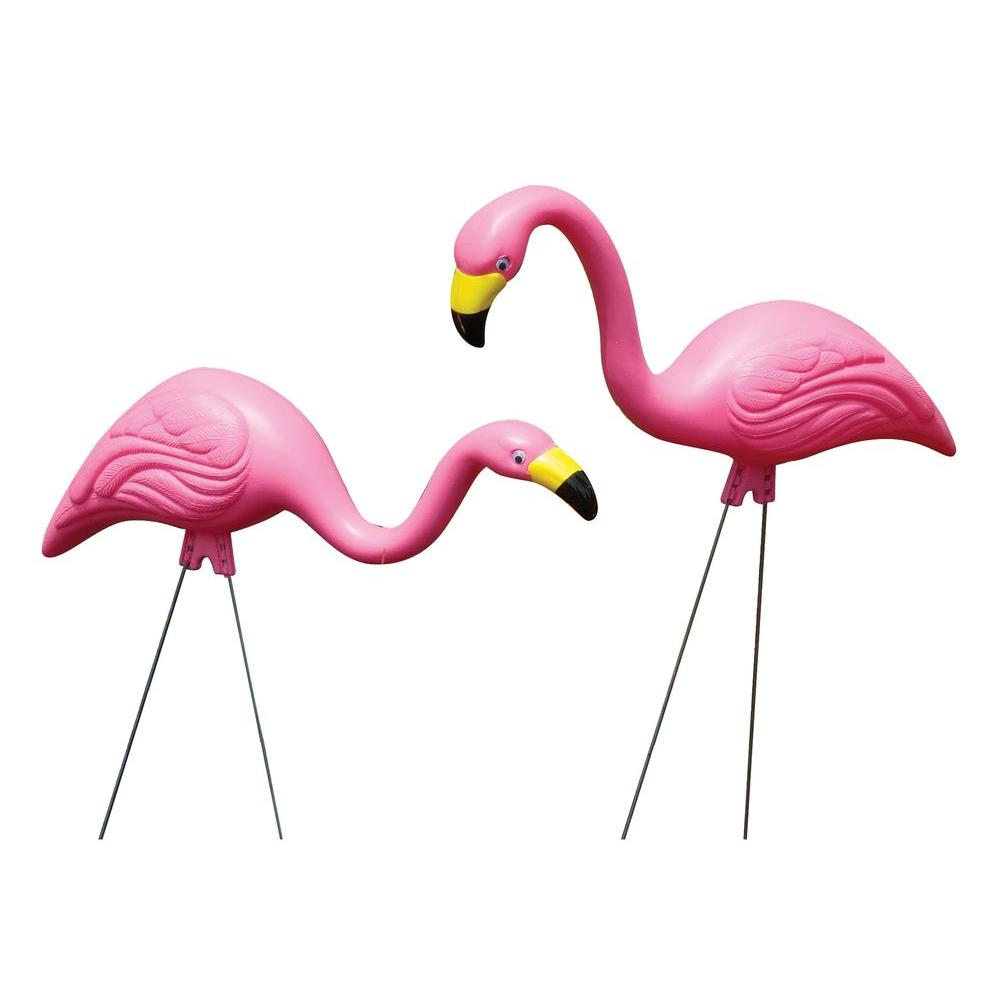 Pink Flamingo Statue (10-Pack)